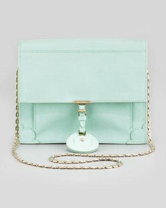 Jason Wu Jourdan Saffiano Crossbody Bag, Mint