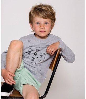 eBBe Kids Grey Melange Sacke College Sweater