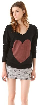 Wildfox Couture Queen of Hearts Sweater