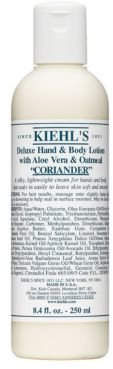 Kiehl's Lavender Deluxe Hand & Body Lotion with Aloe Vera & Oatmeal 8.4oz