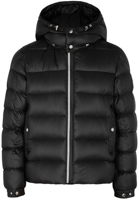 Moncler Arves Black Quilted Shell Jacket