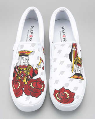 Your Kicks Victorious King Slip-On Sneaker