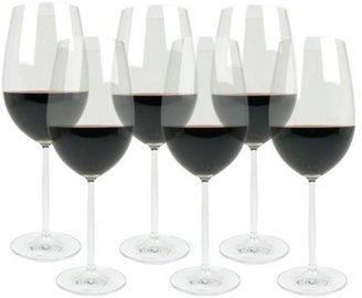 Schott Zwiesel Set of 6 Diva Bordeaux Glasses