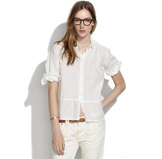 Chimala Vintage Pico Lace Shirt