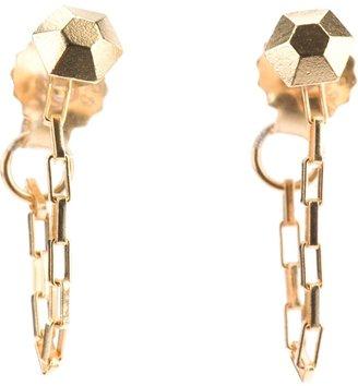 Rebekka Rebekka diamond chain earrings