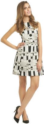 Shoshanna Chessboard Dress