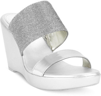 Style&Co. Joella Platform Wedge Sandals