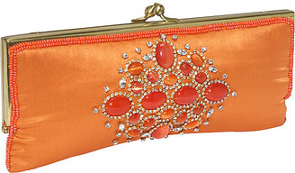 Moyna Handbags Stone and Crystal Evening Clutch
