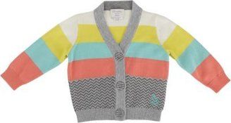 Bonnie Baby Block Stripe Cardigan