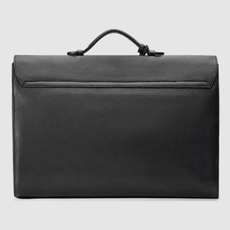 Gucci Leather soft briefcase