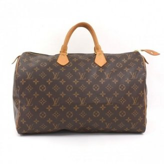 Louis Vuitton very good (VG Brown Monogram Canvas Speedy 40 City Bag