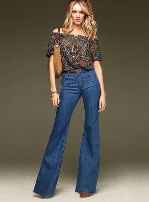 Victoria's Secret High-waist Flare Jean