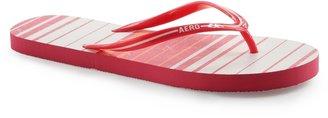 Aeropostale Variegated Sand Stripe Flip-Flop