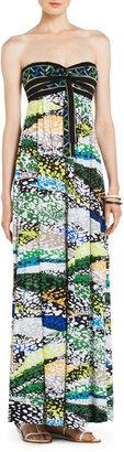 BCBGMAXAZRIA Cybele Strapless Knit Maxi Dress