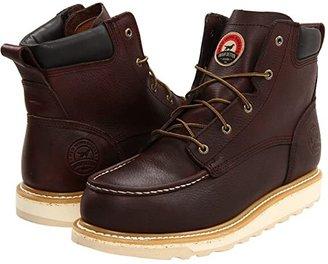 Irish Setter 83606 6Aluminum Toe Wedge (Brown) Men's Work Boots