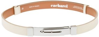 Cacharel hinge detail belt