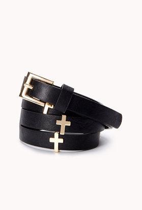 Forever 21 Poetic Cross Hip Belt