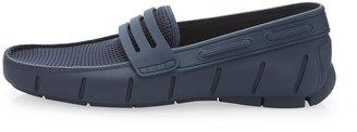 Robert Wayne Clipper Slip-On Shoe, Navy