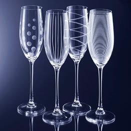 Mikasa Cheers Champagne Flute - Set of 4