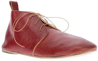 Marsèll vintage effect lace-up shoe