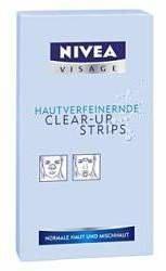 Nivea Visage Hautverfeinerndes Clear Up Strips by 6 Strips)