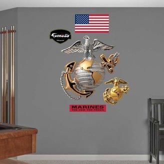 Fathead USMC Globe & Anchor Wall Decals by