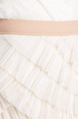 BCBGMAXAZRIA 'Jaya' Tiered Ruffle Mesh Dress