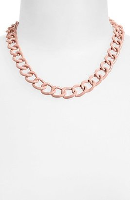 Topshop Curb Chain Necklace