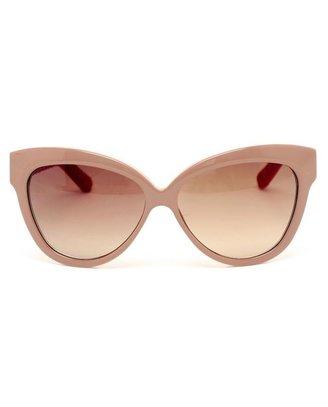 Linda Farrow Acetate and Snakeskin Sunglasses