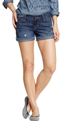 "Old Navy Women's The Diva Cuffed Denim Shorts (3-1/2"")"