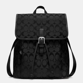 Coach Classic Backpack In Signature Fabric