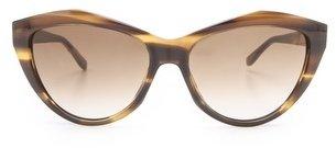 Saint Laurent Sharp Cat Eye Sunglasses