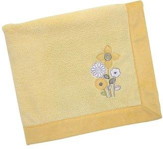 NoJo bright blossom fleece blanket