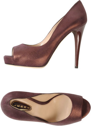 Lerre Pumps with open toe