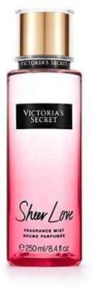 Victoria Secret Sheer Love White Cotton & Pink Lily Fragrance Mist $18 thestylecure.com