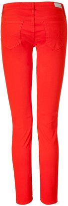 Adriano Goldschmied The Stilt Poppy Red Cigarette Jeans