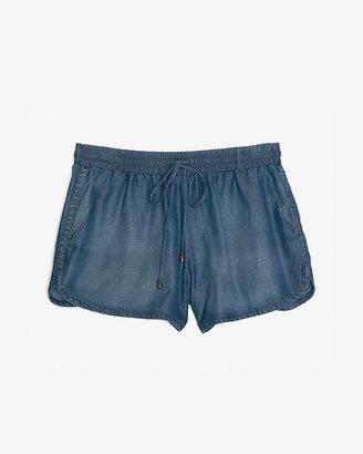 Splendid Chambray Shorts