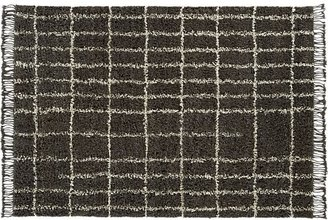 Crate & Barrel Chester Taupe Rug.