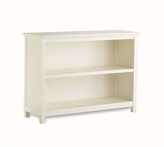 Pottery Barn Kids Cameron 2-Shelf Bookcase, Simply White