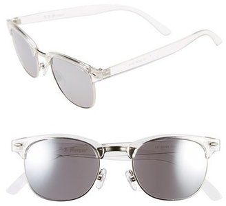 Women's A.j. Morgan 52Mm 'Soho' Sunglasses - Crystal/ Mirror $24 thestylecure.com