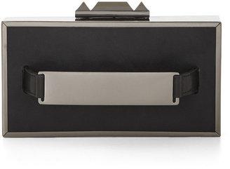 BCBGMAXAZRIA Sadie Box Clutch With Side Handle