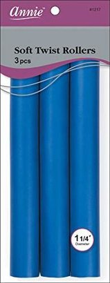 Annie Soft Twist Rollers, Blue, 3 Count $5 thestylecure.com