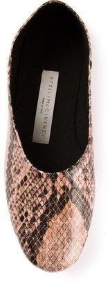 Stella McCartney snake skin print slipper