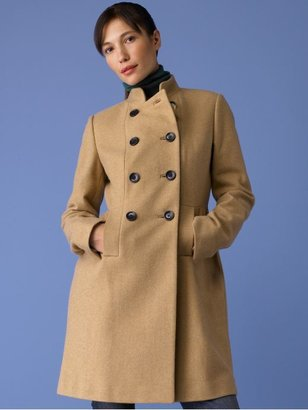 Banana Republic Feminine military coat - Camel