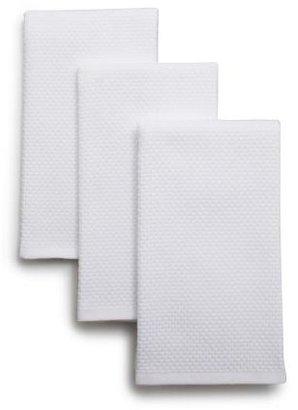 """Sur La Table Dual-Sided Kitchen Towels, 19"""" x 16"""", Set of 3"""