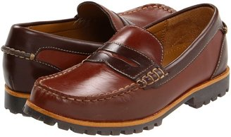 Cole Haan Air Brandon Penny (Toddler/Little Kid/Big Kid) (Cognac) - Footwear