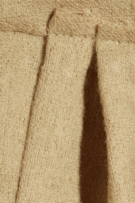Marni Wrap-effect woven-wool dress