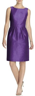 Women's Alfred Sung Boatneck Sheath Dress $176 thestylecure.com