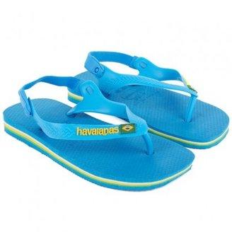 Havaianas Blue Brazil Sandals