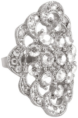 Forever 21 Faux Diamond Ring